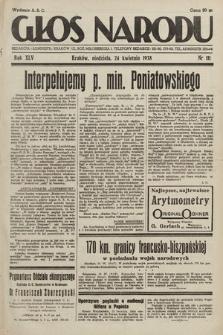 Głos Narodu. 1938, nr111