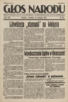 Głos Narodu. 1938, nr115