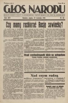Głos Narodu. 1938, nr116
