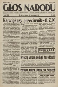 Głos Narodu. 1938, nr117
