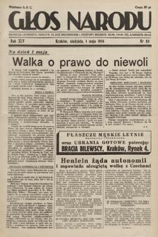 Głos Narodu. 1938, nr118