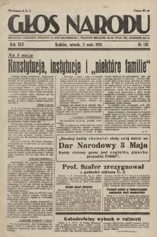 Głos Narodu. 1938, nr120