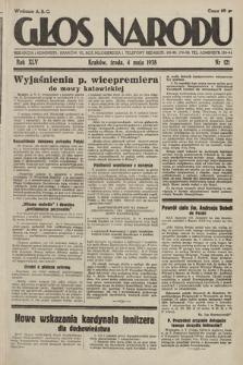 Głos Narodu. 1938, nr121