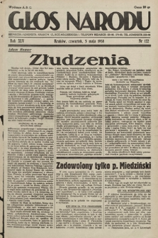 Głos Narodu. 1938, nr122