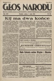 Głos Narodu. 1938, nr124