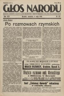 Głos Narodu. 1938, nr125