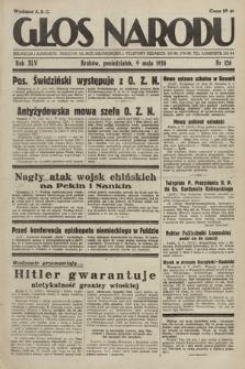 Głos Narodu. 1938, nr126