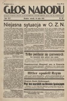 Głos Narodu. 1938, nr127