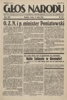 Głos Narodu. 1938, nr128