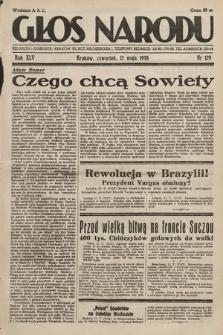 Głos Narodu. 1938, nr129