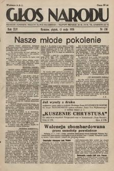 Głos Narodu. 1938, nr130