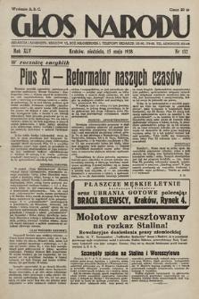 Głos Narodu. 1938, nr132