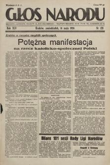 Głos Narodu. 1938, nr133
