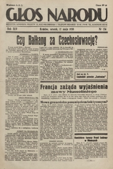 Głos Narodu. 1938, nr134