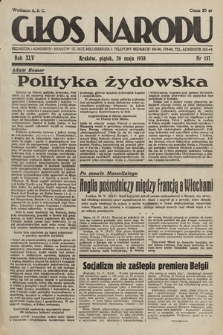 Głos Narodu. 1938, nr137