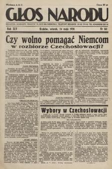 Głos Narodu. 1938, nr141