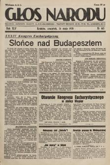 Głos Narodu. 1938, nr143