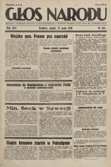 Głos Narodu. 1938, nr144