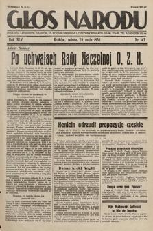 Głos Narodu. 1938, nr145