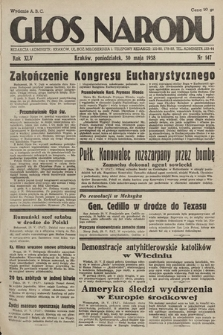 Głos Narodu. 1938, nr147