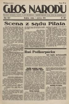 Głos Narodu. 1938, nr149