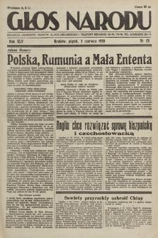 Głos Narodu. 1938, nr151