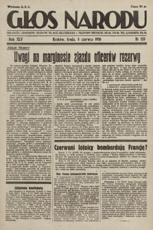 Głos Narodu. 1938, nr155
