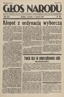 Głos Narodu. 1938, nr156