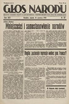 Głos Narodu. 1938, nr157
