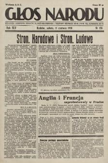 Głos Narodu. 1938, nr158