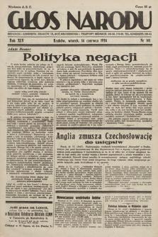 Głos Narodu. 1938, nr161