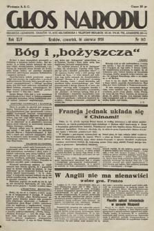 Głos Narodu. 1938, nr163