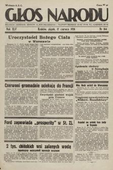 Głos Narodu. 1938, nr164