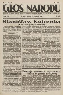 Głos Narodu. 1938, nr165