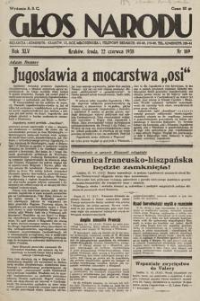 Głos Narodu. 1938, nr169