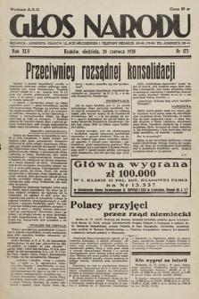 Głos Narodu. 1938, nr173