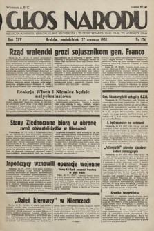 Głos Narodu. 1938, nr174
