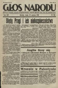 Głos Narodu. 1938, nr176