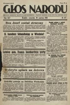 Głos Narodu. 1938, nr177