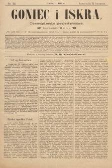 Goniec i Iskra : czasopismo perjodyczne. 1899, nr32