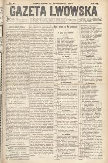 Gazeta Lwowska. 1874, nr 92