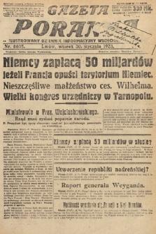 Gazeta Poranna : ilustrowany dziennik informacyjny wschodnich kresów. 1923, nr6605
