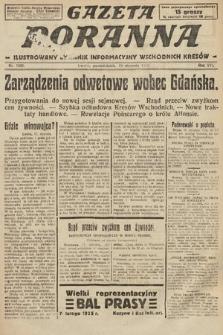 Gazeta Poranna : ilustrowany dziennik informacyjny wschodnich kresów. 1925, nr7306