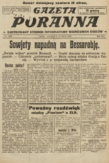 Gazeta Poranna : ilustrowany dziennik informacyjny wschodnich kresów. 1925, nr7320