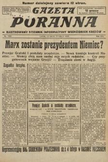Gazeta Poranna : ilustrowany dziennik informacyjny wschodnich kresów. 1925, nr7323