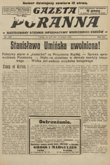 Gazeta Poranna : ilustrowany dziennik informacyjny wschodnich kresów. 1925, nr7327