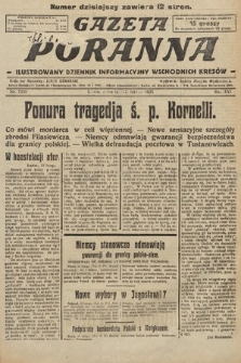 Gazeta Poranna : ilustrowany dziennik informacyjny wschodnich kresów. 1925, nr7330