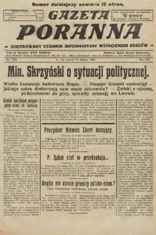 Gazeta Poranna : ilustrowany dziennik informacyjny wschodnich kresów. 1925, nr7345