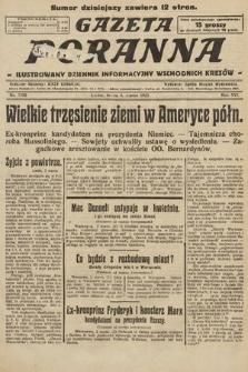 Gazeta Poranna : ilustrowany dziennik informacyjny wschodnich kresów. 1925, nr7350
