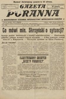 Gazeta Poranna : ilustrowany dziennik informacyjny wschodnich kresów. 1925, nr7359